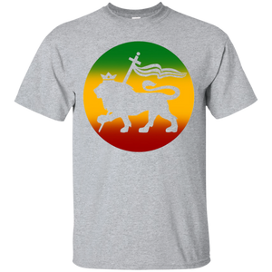 b94b7fad2 Lion-of-Judah-T-Shirt-Tee-White-Rasta-