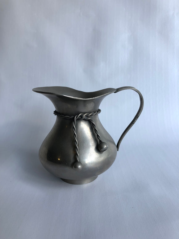 Pewter Jug with Tie