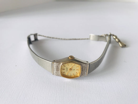 Vintage Citizen Ladies Dress Watch with Charm (7866)