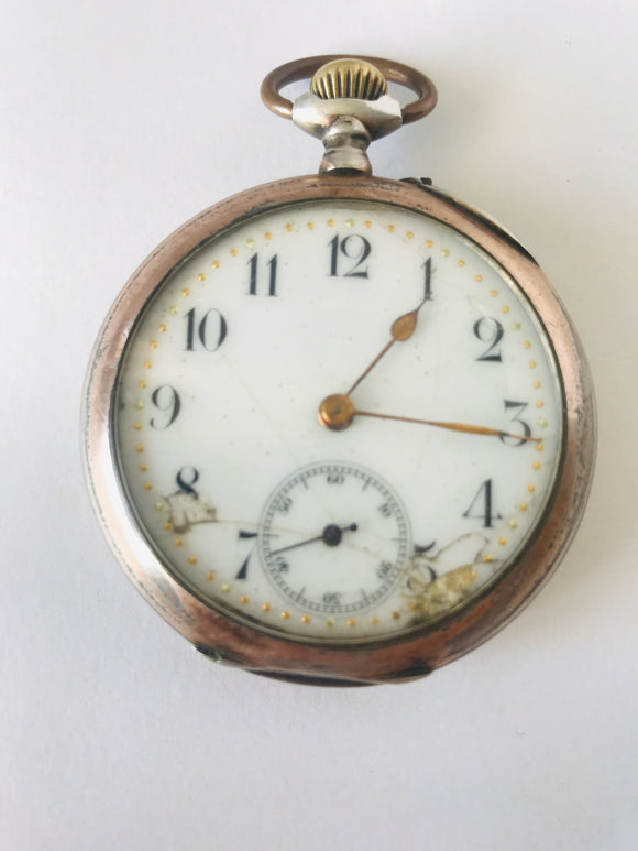1800's French Gousset Watch (7894)