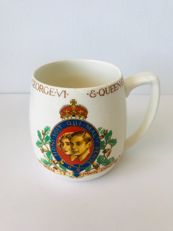 1937 King George VI Coronation Mug (7906)