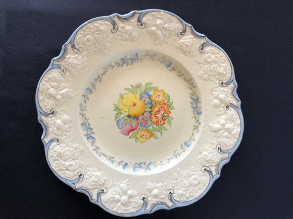 Crown Ducal Ware Plate (8259)