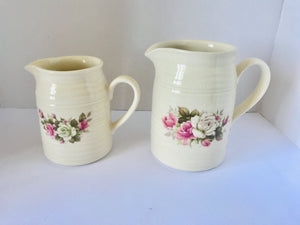 2 x Titan Ware/Crown Lynn Jugs (7392)