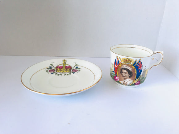 Aynsley 'Queen Elizabeth' DUO (7907)