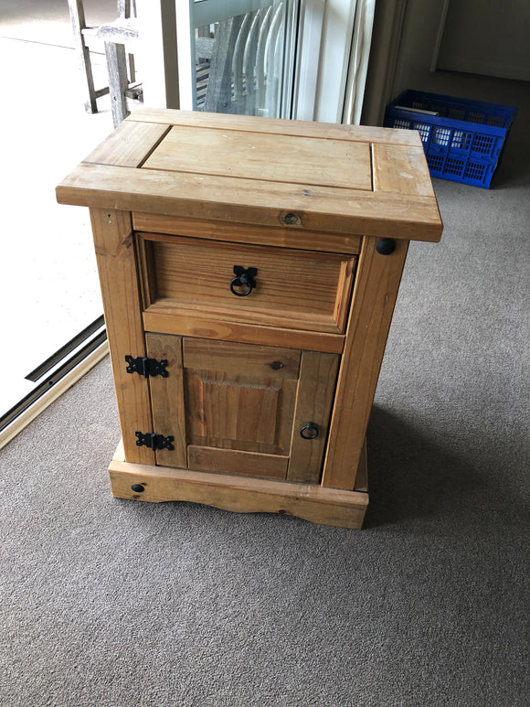 Rustic Solid Wood Cabinet (8275)