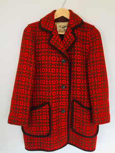 *Gorgeous RETRO* Pure Wool WELSH Jacket (ref: 6653)
