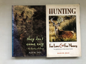 Hunting - 2 x Alex M Gale Books (8305)
