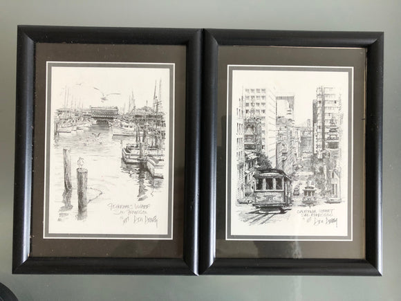 1977 Don Davey Prints x 2