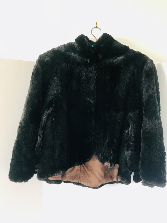 Art Deco Fur Cape (8501)