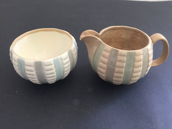 H. J. Wood Ltd Creamer and Sugar Bowl (ref: 7194)