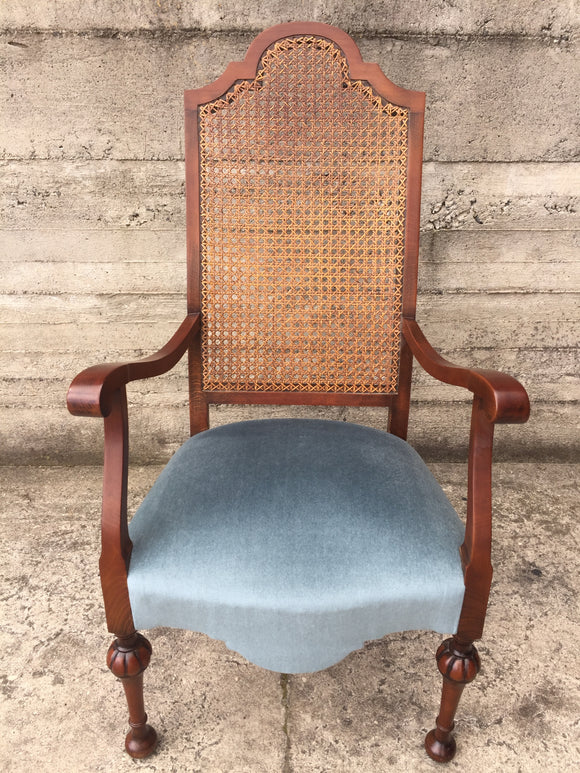 High Backed Cane Chair (7346)