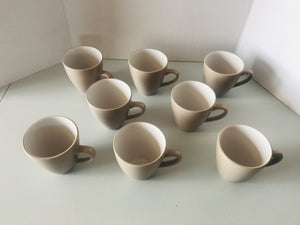 8 x Bisque/White Haven Mugs (8582)