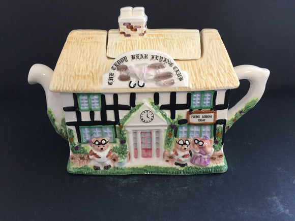 Collectable Teapot: The Teddy Bear Flying Club (7536)