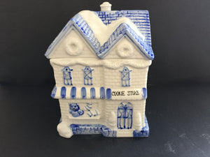 Ceramic Cookie Jar (7537)