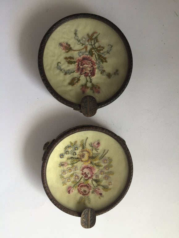 Vintage Hair Pin Trays x 2 (7519)