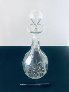 Unique Crystal Decanter with ground Stopper (8482)