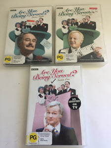 Are You Being Served? Series 1,6 & 8 (7755)