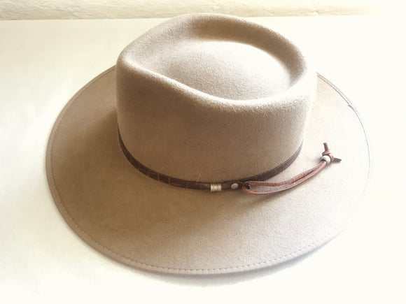 Men's Snowy River-style Australian Hat (8466)