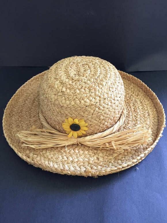 Country Sunflower Straw Hat (7882
