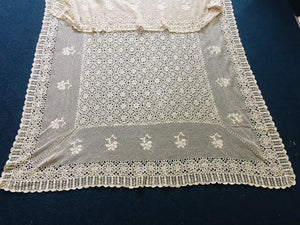 Large Crochet Table Cloth (8380)