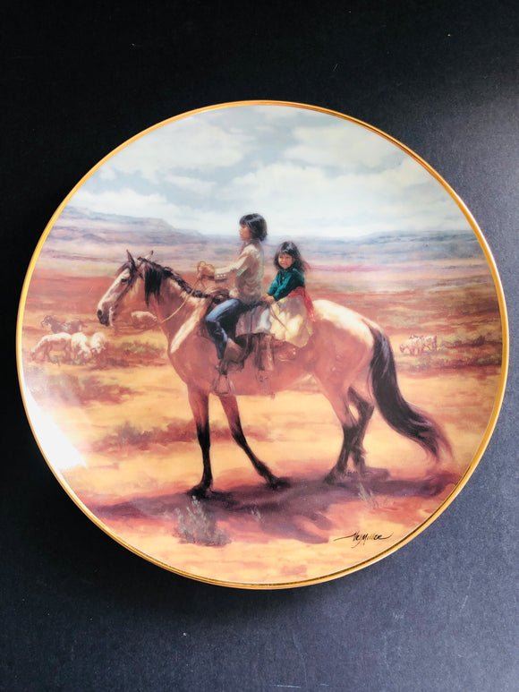Franklin Mint: Children of the Sun Plate (8835)