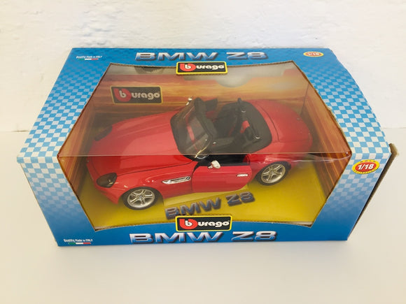 Bburago 1/18 BMW Z8 Red (ref: 5816)