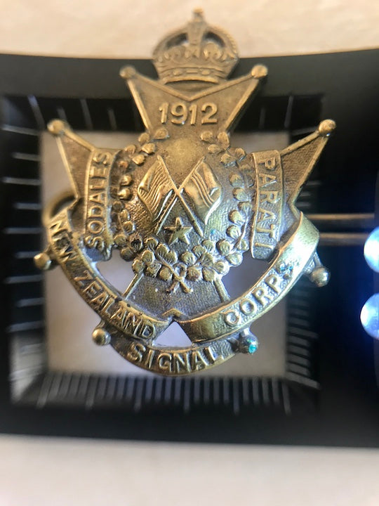 1912 NZ Corps Signal Badge (ref: 6216)