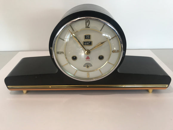 Retro Chinese 15-Day Mantle Clock (ref: 6459)