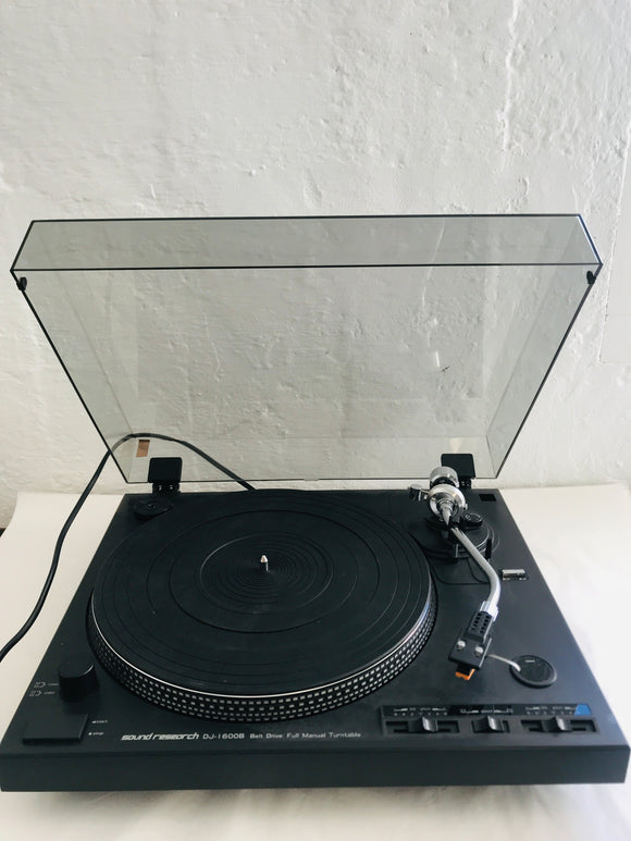 Sound Research DJ-1600B Turntable (9053)