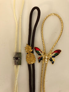 Western Bolo Ties x 3 - Selection (ref: 5892)