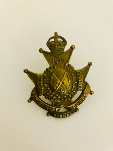 NZ Signal Corps (NZ Engineers) (ref: 5388)