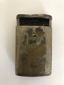Antique Sliding Push Out Match Safe (ref: 6096)