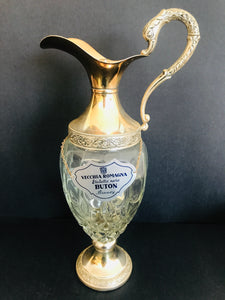 Stunning Italian Silver Plated Brandy Decanter (ref: 5801)