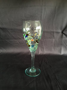 Unique Hand Made Wine Glass