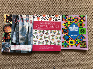 Quilting / Patchwork Books x 3 (ref: 6295)