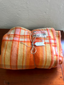 Vintage Single  Wool Blanket (ref: 7111)