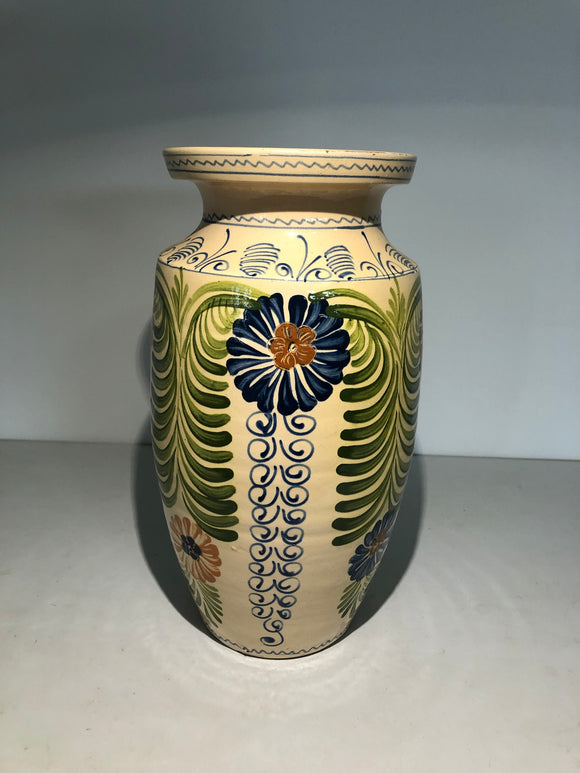 Large Hand Painted Decorative Vase (ref: 6416)