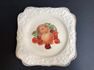Crown Ducal Florentine Plate (ref: 2174)