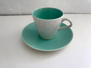 Poole Twintone C57 Breakfast Cup/Saucer (7299)