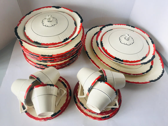 Art Deco MYOTT Dinner Set (7316)