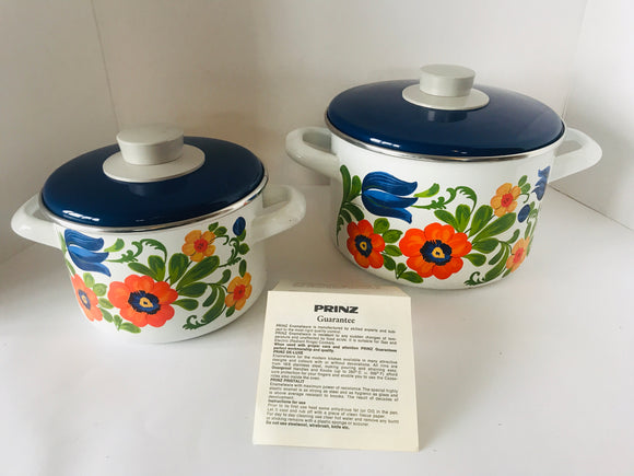 RETRO PRINZ Germany 2 x Casseroles (7380)