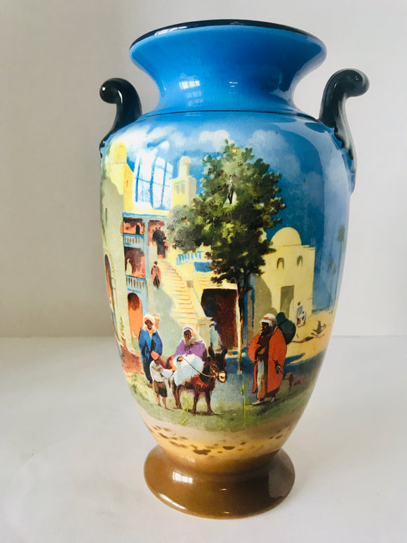 1930's Falcon Ware Clifton Urn (7388)