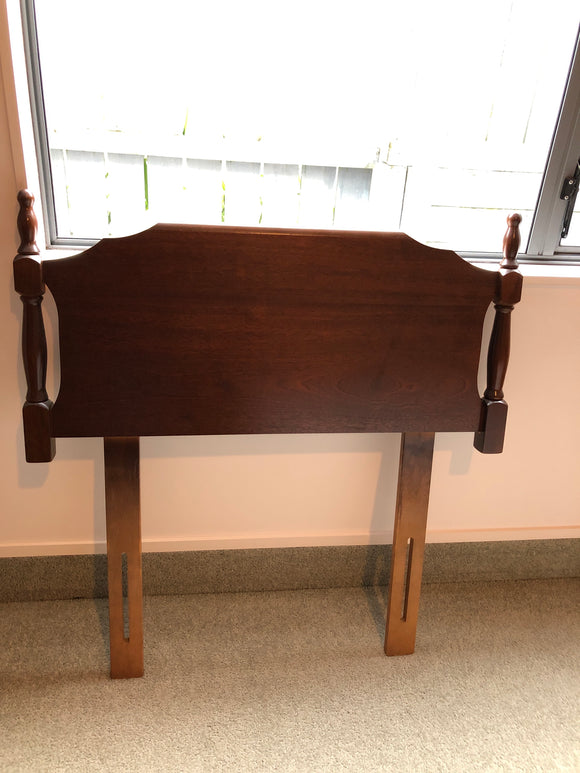 Single Mahogany Headboard  (ref: 7088)