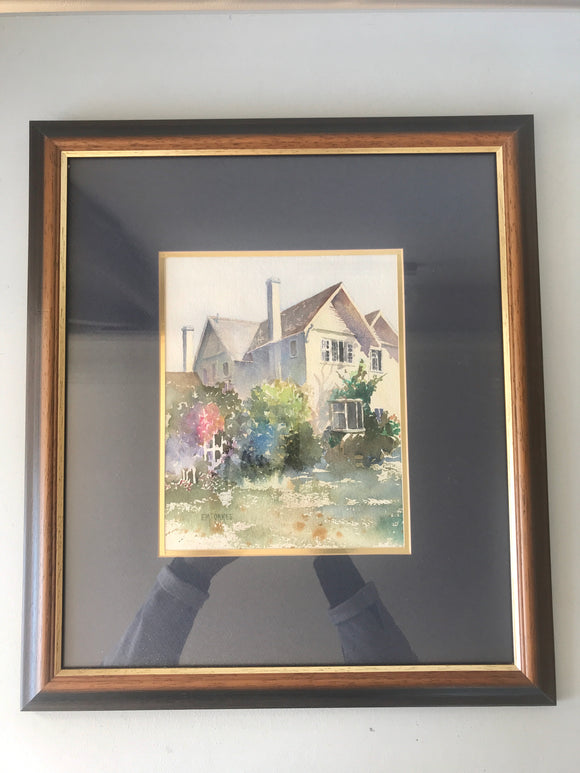 Original Watercolour by Betty Oakes (7486)