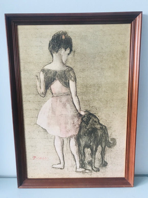 Picasso 'Little Girl and Dog' (7506)