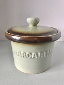 Clay Craft Margarine Crock (7562)