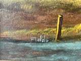 Original Landscape Oil Painting by Fields (7573)