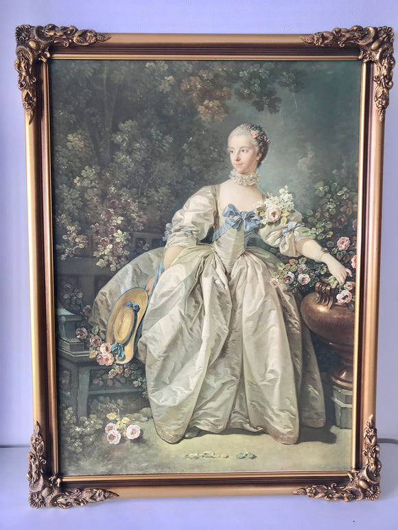 Madame Bergeret by Francois Boucher (7636)