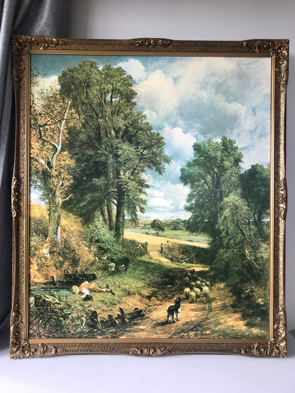 ''The Cornfield' by John Constable in Gilt Frame (7637)