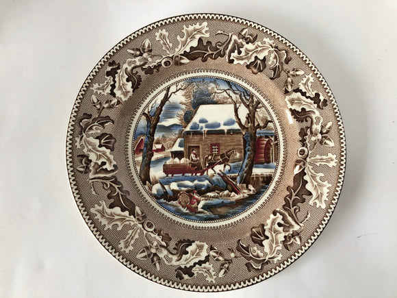 Johnson Bros Thanksgiving Plate (8080)